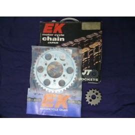 Kit chaîne Kawasaki ZXR 750 R